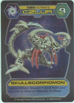 SkullScorpiomon DT-147 (DT)