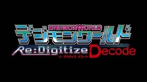 「デジモンワールド リ:デジタイズ デコード」スペシャルムービー第1弾