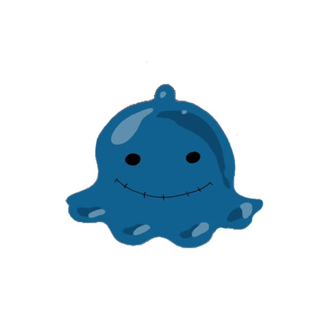 <b>Drippin blau</b>