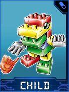 ToyAgumon Collectors Child Card