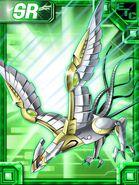 RaptorSparrowmon Collectors EX Card