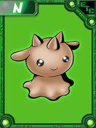 Chocomon collectors card