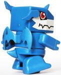 ExVeemon Batokoro toy back