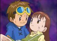 Takato salvando a Juri