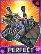 Tankdramon Collectors Perfect Card
