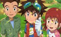 Victoria! Taiki, Akari y Zenjirou