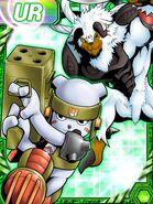 Blizzarmon and chackmon re collectors card