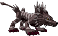 Garurumon (Black) dwds