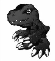 Agumon black
