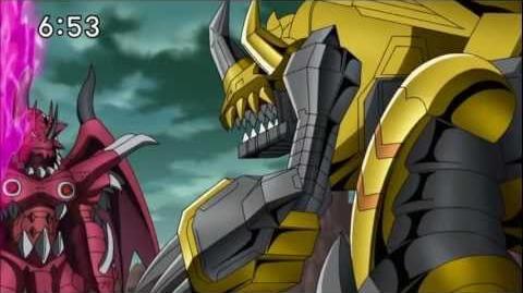 Digimon Xros Wars - ZeekGreymon (720p HD)