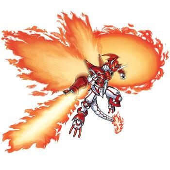 ShineGreymon Modo Explosivo