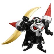 SkullKnightmon Naginata Mode toy
