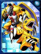 WarGreymon and Agumon RE Collectors Card