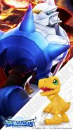 Digimonlinkz smart phone wallpaper