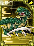 Dinorexmon collectors card