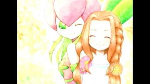 "Digimon 02 Mimi y Palmon song ""Happy smile"" (sonrisas feliz)+ MP3 sub español"
