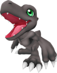 Agumon (Black) dl