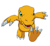 Agumon transparent