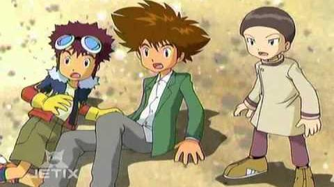 Digimon-Agumon Dark digivolves