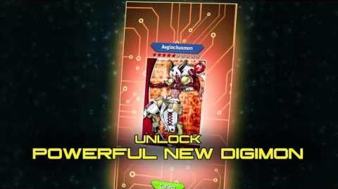 Digimon Heroes! NEW Aegiomon Story Teaser Trailer HQ