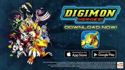 Digimon Heroes! Trailer HD