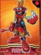 FlaWizarmon Collectors Armor Card