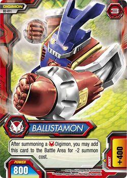 Ballistamon B2-011 (DFC)