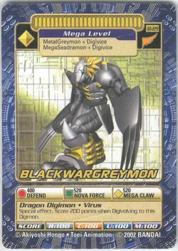 BlackWarGreymon Bo-229 (DB)