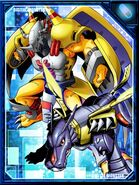 WarGreymon and MetalGarurumon RE Collectors Card2