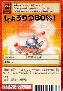 80% Winning Percentage! Sx-78 (DM)