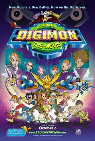 Caratula Digimon la Pelicula