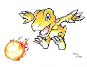 Agumon illustcon