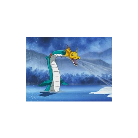 海龙兽的必杀技<b>冰箭</b>