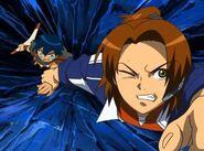 Masaru e Ikuto abismo