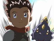 Ryo y Monodramon