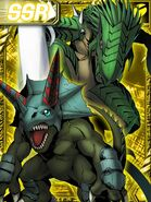Triceramon and Dinorexmon re collectors card