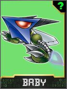 Missimon Collectors Baby Card