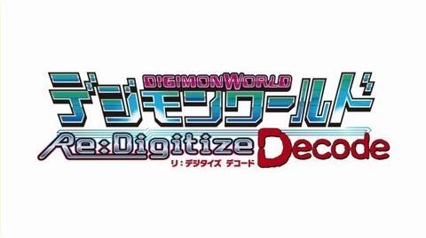「デジモンワールド リ:デジタイズ デコード 」スペシャルムービー第2弾