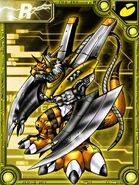Megalogrowmon orange collectors card