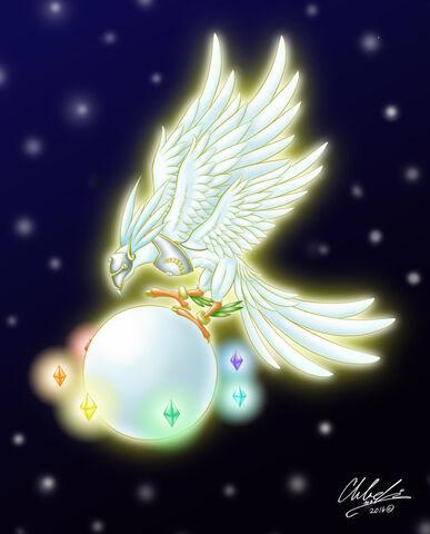 File:Michamon Holy Spirit Mode fanart.jpg