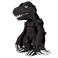Agumon black re