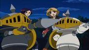 PawnChessmon, Miki y Megumi
