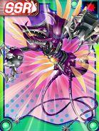 Tyrantkabuterimon ex2 collectors card