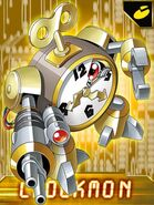 Clockmon dxw collectors card
