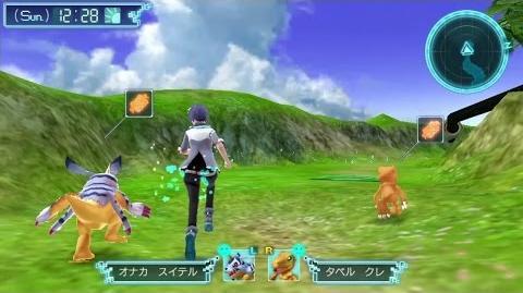 """PS Vita「デジモンワールド -next 0rder-」""""特別なアグモン&ガブモン""""プレイ動画"""