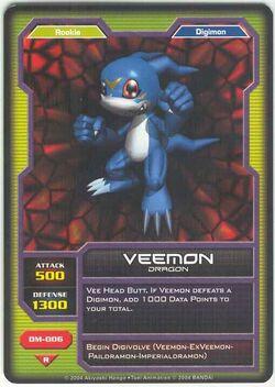 Veemon DM-006 (DC)