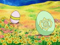 4-47 Cherubimon's and Ophanimon's Digi-Eggs