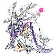 Angemon angewomon crusader