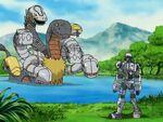 Orochimon y Andromon