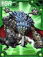 Blastmon chikurimon troopmon collectors card